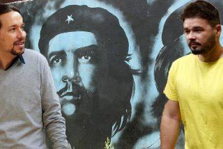 """Iglesias y Rufián rinden culto al homófobo y asesino Ché Guevara: """"Un ejemplo para la justicia social"""""""
