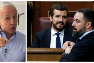 """Inda baja el pulgar a Casado y Abascal: """"Jamás contemplé un suicidio tan perfecto"""""""