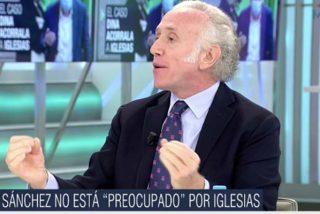 """Descomunal enfado de Eduardo Inda en Telecinco con Casado, Abascal y Arrimadas: """"¿Dónde estaban ayer? ¡Esta oposición no puede ser más lerda!"""""""