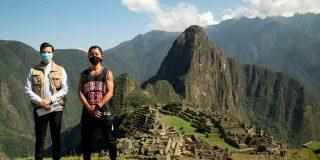 "Machu Picchu ""abre sus puertas"" solo para un turista japonés que ha esperado casi siete meses para ingresar"
