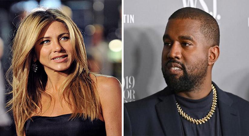 Jennifer Aniston dice que no es divertido votar a Kanye West y se este se cabrea de verdad
