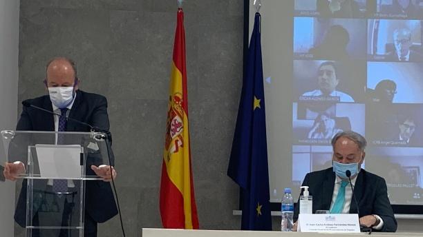 Juan Carlos Campo inaugura las jornadas sobre el futuro de la profesión de Procurador