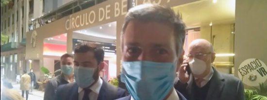 Leopoldo López, a disposición de la Justicia de España tras la petición de extradición del chavismo