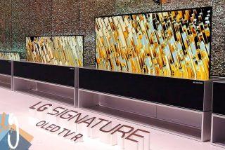LG lanza la primera televisión enrollable del mundo y costará ¡75.000 euros!