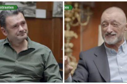 Arturo Pérez-Reverte revienta con un zasca de libro el engaño de Iñaki López para enganchar a la audiencia