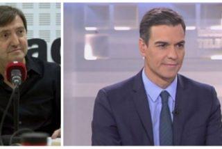 """Losantos: """"Sánchez es un déspota, un matón de discoteca que solo sabe hablar a coces"""""""