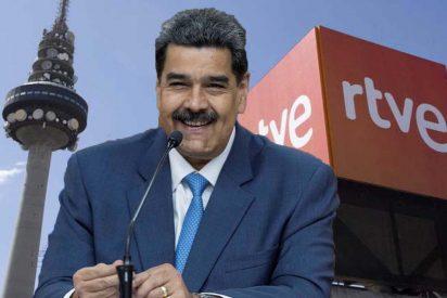 RTVE, más bolivariana que nunca: ofrece el 'escenario' a Maduro para que insulte a España