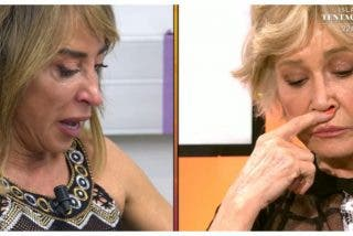 Desgarrador cara a cara entre Mila Ximénez y María Patiño tras su gran bronca en 'Sálvame'