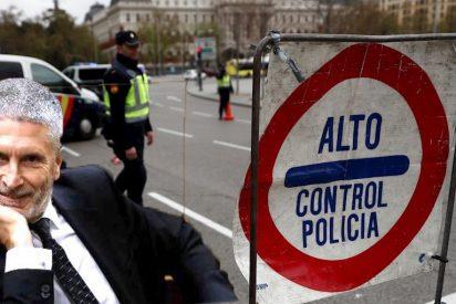 Estado de alarma: Marlaska no espera al BOE y 'toma policialmente' Madrid con controles irregulares