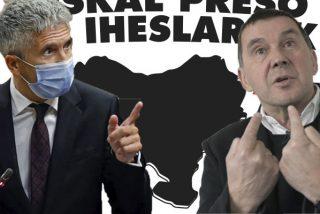 Marlaska 'felicita' el Año Nuevo a las víctimas de ETA con 11 nuevos acercamientos de terroristas