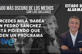 EL LADO OSCURO DE LOS MEDIOS / Mercedes Milá 'babea' con Pedro Sánchez...¿está pidiendo que le den un programa en TVE?