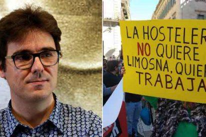 Un colaborador de TV3, a los camareros tras el cierre de bares: «Aprended catalán, que luego todo son excusas»