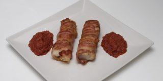 Merluza rebozada en bacon, una receta exquisita