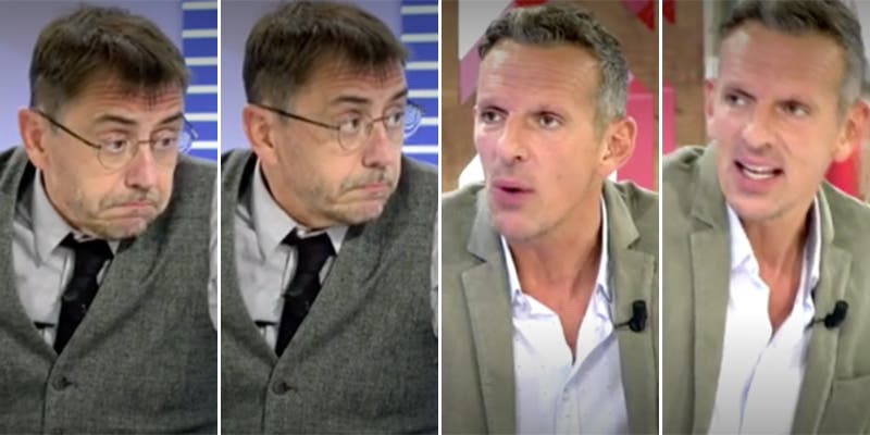 """Formidable bronca de Joaquín Prat a Monedero en Cuatro: """"Tienes unos cojones..."""""""