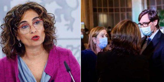 La grotesca excusa de María Jesús Montero para justificar la 'juerga' de los ministros con Pedrojota