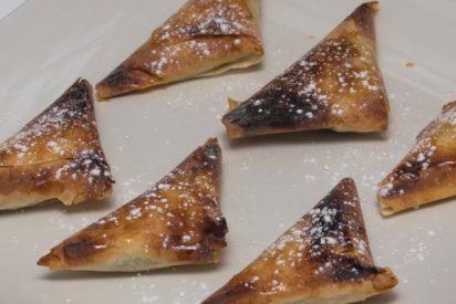 Pañuelitos dulces de morcilla, un aperitivo ideal y delicioso