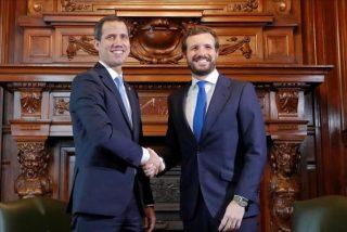 Casado mantendrá una videoconferencia con Guaidó tras desvelarse el plan de Sánchez y Borrell a favor de Maduro