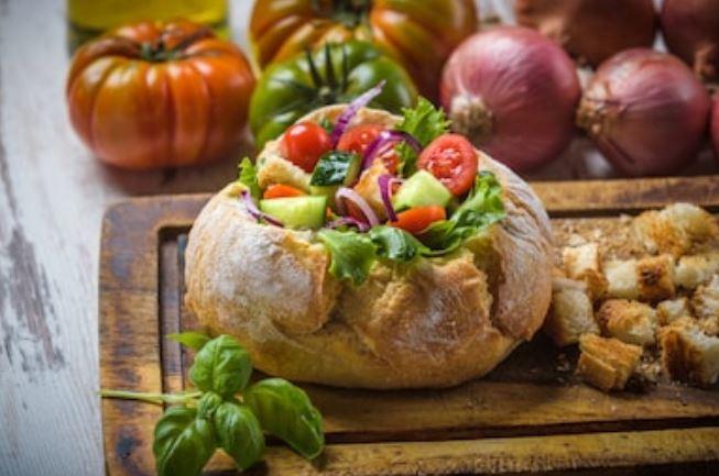 panzanella de la Toscana
