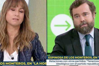 A Pardo de Vera se le atraganta el café con De los Monteros (VOX): «Ahora le voy a decir yo lo que pienso»