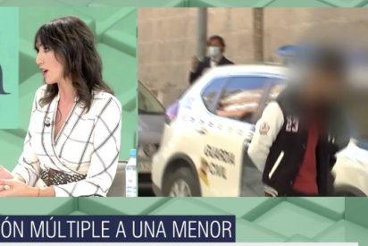 """El Quilombo / Una periodista de Mediaset se niega a decir la nacionalidad de los violadores de una menor """"porque eso no nos importa"""""""