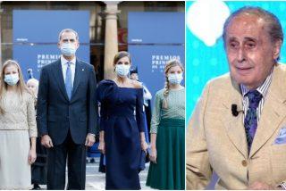 Jaime Peñafiel enturbia los Premios Princesa de Asturias con un desafortunado comentario sobre la Reina Sofía