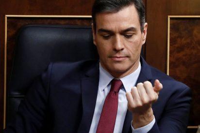 Moncloa elimina de la red un salvaje vídeo de Pedro Sánchez defendiendo 'crímenes de Estado'