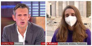 """El Quilombo / Una podemita se quita la careta afirmando que los proetarras de Bildu """"defienden los derechos humanos, no como el PP"""""""