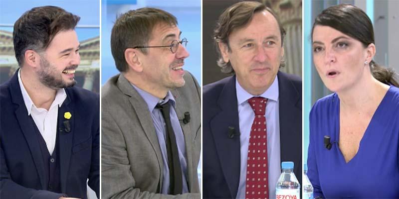 """Salvaje debate en Telecinco: """"Machista, mentiroso, matón... ¡Ladrones, profanadores de tumbas!"""""""