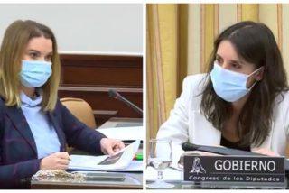 El chorreo de la popular Prohens a Montero por tapar los abusos de Iglesias en el 'caso Dina'