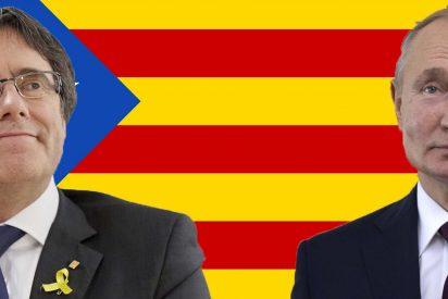Putin ofreció a Puigdemont 10.000 soldados para independizar a Cataluña de España