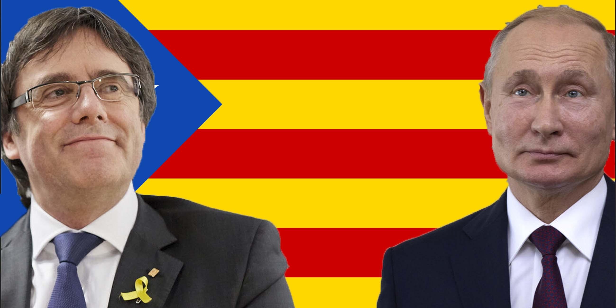 El 'New York Times' desvela las peligrosas conexiones de Puigdemont con Rusia para atacar a España