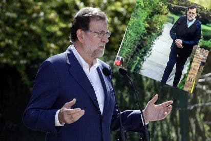 """Rajoy se 'chotea' de laSexta por acusarle de """"saltarse"""" el confinamiento"""