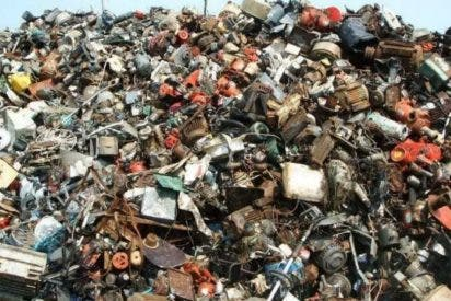 ¿Eres capaz de encontrar al gato entre el montón de basura?