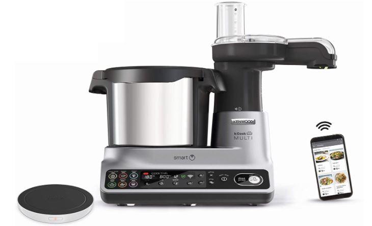 Kenwood kCook Multi Smart CCL450SI robot de cocina con wifi