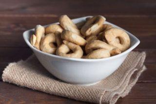 Receta de rosquillas de pan fáciles