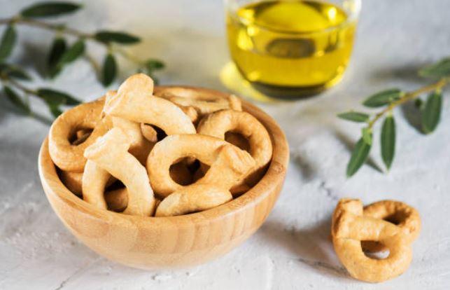 Receta de rosquillas de pan fáciles (4 ingredientes)