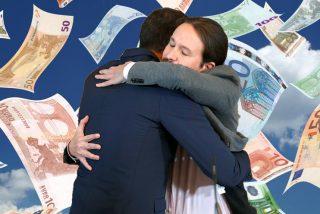 Vergonzoso: El PSOE y Podemos intentan subirse el sueldo con 2,1 millones de niños pobres en España