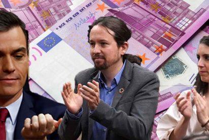 Pedro Sánchez sube el sueldo a Pablo Iglesias e Irene Montero tras crujir a impuestos a los españoles