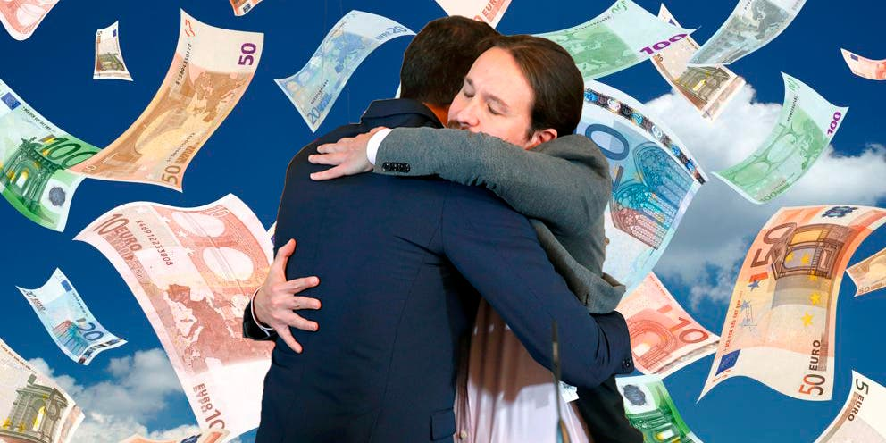 Pablo Iglesias y Pedro Sánchez, los políticos con más dinero en el banco