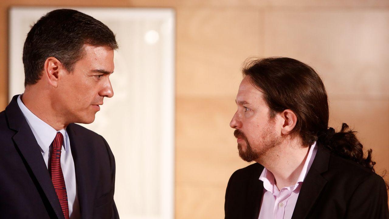 Palo a Podemos y al Gobierno de Sánchez: 55.000 firmas van al Supremo para imputar a Pablo Iglesias