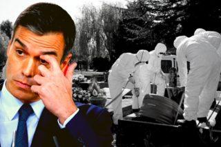 'El Enterrador' Sánchez pretende ocultar 60.000 muertos bajo la alfombra de un estado de alarma perpetuo