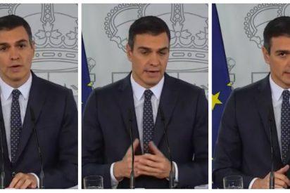 Sánchez aguarda a los telediarios para perpetrar otro 'Aló presidente' a cuenta del nuevo estado de alarma
