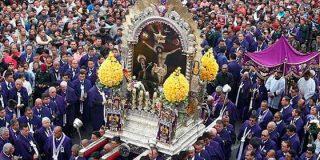 """El """"Señor de los Milagros"""", una fe intacta en pandemia"""