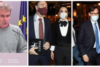 Simón hace el papelón del siglo tras la 'fiestaJota' insinuando el cierre de cines y teatros