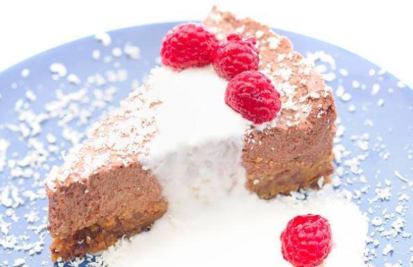 Tarta mousse de chocolate fácil