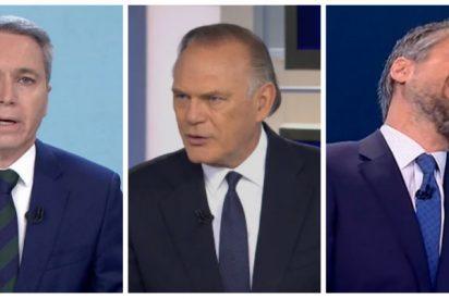 Vallés mete el hachazo definitivo a Piqueras (Telecinco) y hunde a Franganillo (TVE) con sus zascas a Sánchez e Iglesias