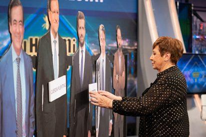 El esperpento de Celia Villalobos con Pablo Motos: insultos a granel a Abascal