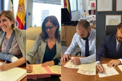 Castilla y León, Madrid, Andalucía y Murcia firman un protocolo de buenas prácticas en materia de empleo