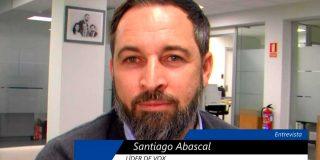 """Santiago Abascal: """"Queremos una inmigración legal y de Hispanoamérica, con nuestros valores y cultura"""""""