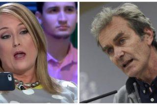 """Hasta Elisa Beni ve abrasado a Fernando Simón: """"Su último servicio tiene que ser un adiós"""""""